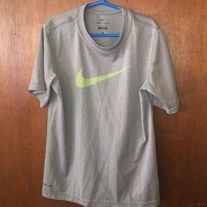 Boy's Nike Dri- Fit small short sleeve shirt